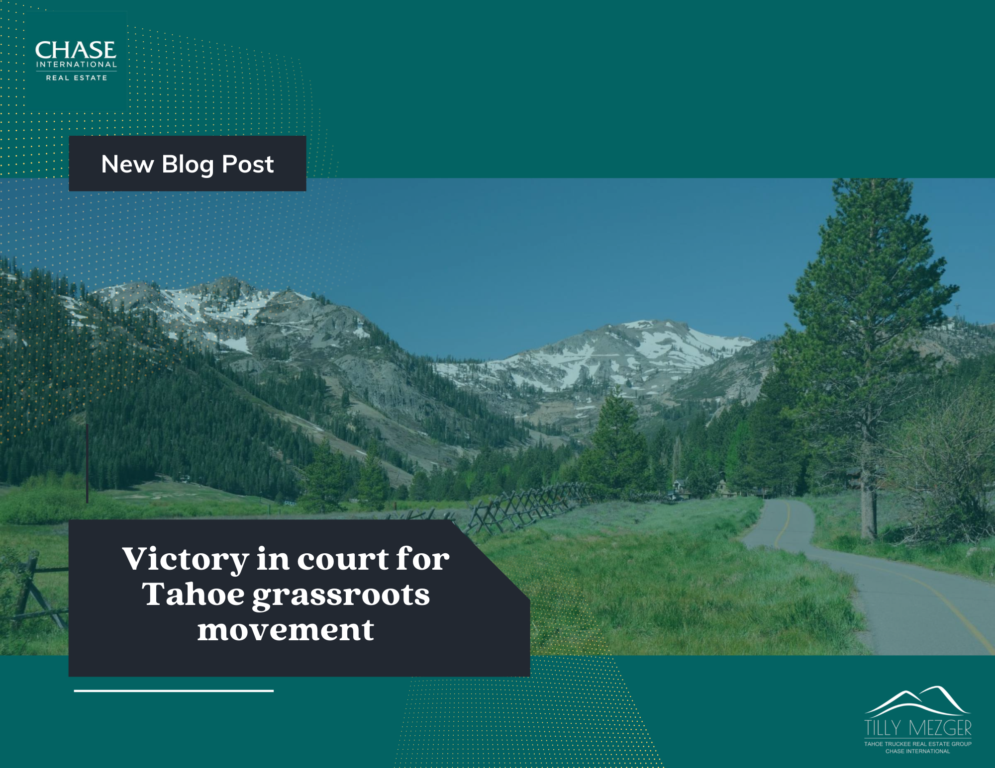 Victory In Court for Tahoe Grassroots Movement